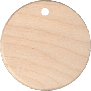 Wood  Bag Tag
