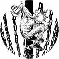 Twisted Jester Basket BW