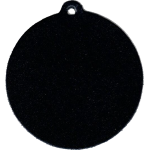 Black Leather Bag Tag